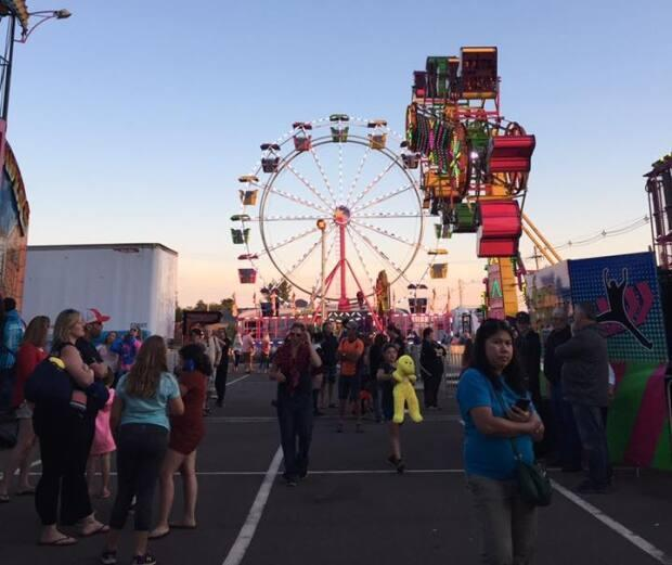 The Summerside Lobster Carnival is planning a scaled-down event for July that will not include the midway of past years.  (Explore Summerside/Facebook - image credit)