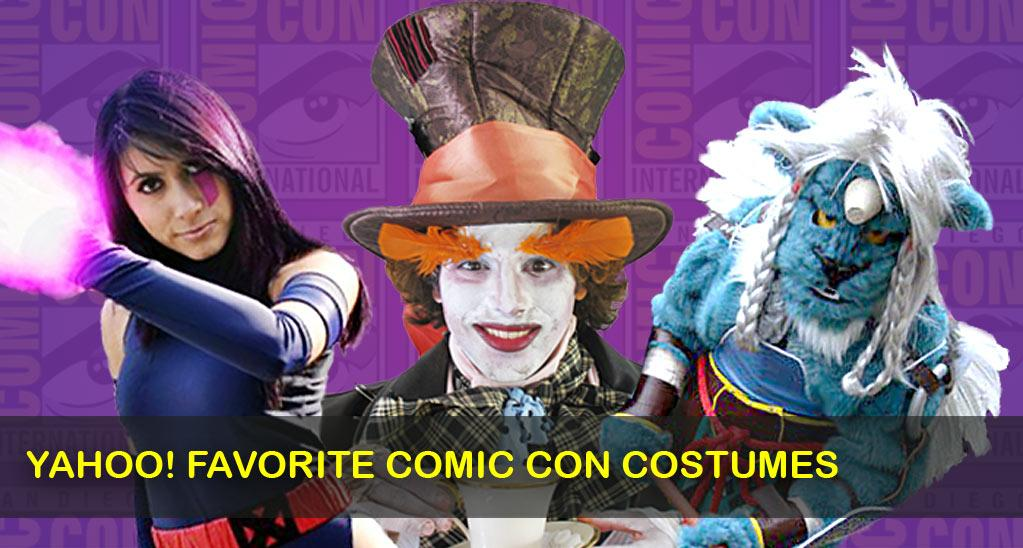 In the spirit of Comic-Con, Yahoo! was looking for the most creative, most realistic, and most innovative costumes of your favorite action hero, comic book character, or video game avatar. We asked you to submit your pictures, and here are our favorites! Tweet @YahooMovies to tell us which one is your favorite of the ones we selected.