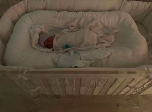<p>Kim and Kanye have revealed the name of their fourth child, a son born by surrogate on May 10 2019, and he has an equally special name.<br>Joining his big brother and sisters, North, Saint and Chicago, the couple have opted to name their second son Psalm.<br>Kim revealed the name on Twitter, sharing a text from Kanye with a picture of their sleeping newborn. Sweet. [Photo: Instagram/kimkardashian]<br></p>