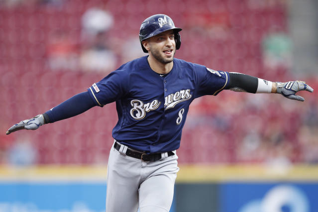 Ryan Braun glides into the Top 10. (Photo by Joe Robbins/Getty Images)