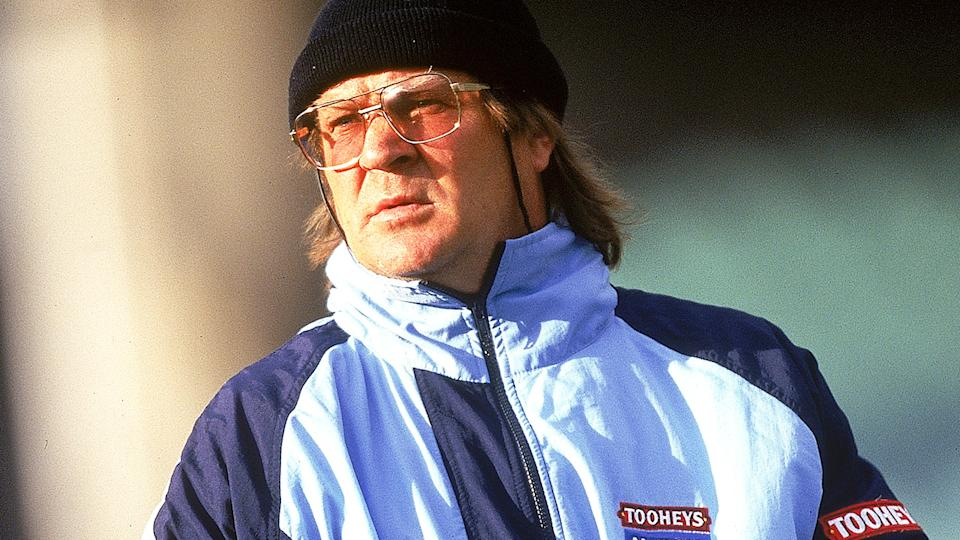 Tommy Raudonikis, pictured here during a NSW training session in 1997.