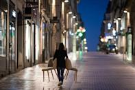 French streets are all but empty from 6 pm these days due to a coronavirus curfew