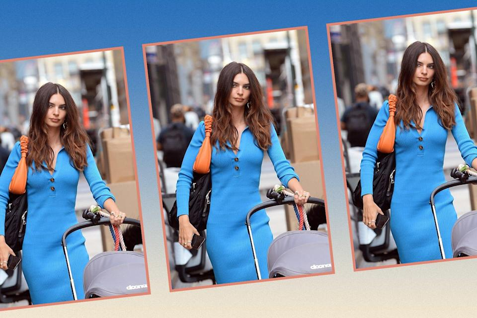 Emily Ratajkowski Just Wore the Viral J.W. Pei Gabbi Bag Again in an Unexpected Color