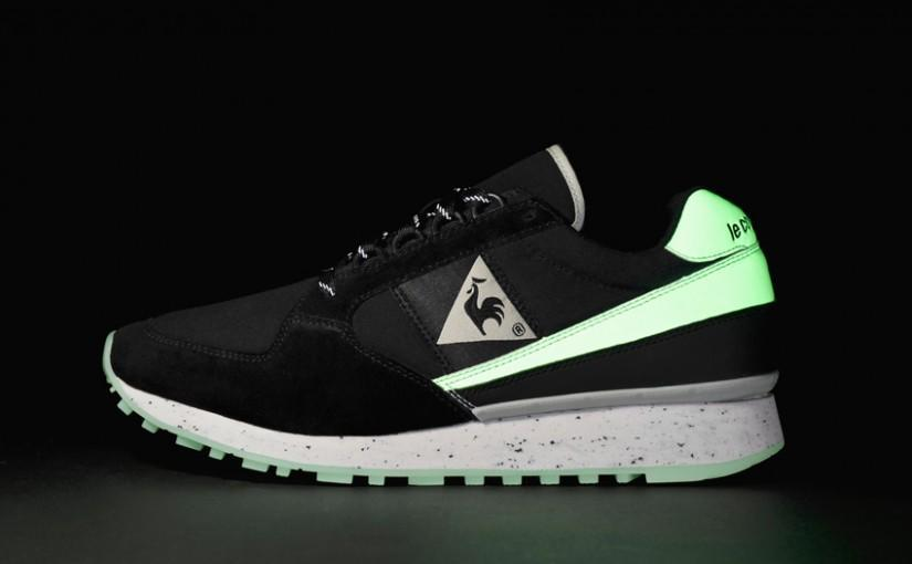<p>Whether you want to be safe running in the dark or just look cool in a club Le Coq's glow in the dark trainers were a game changer. [Photo: Le Coq] </p>