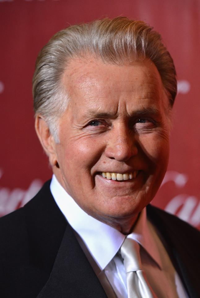 PALM SPRINGS, CA - JANUARY 05:  Actor Martin Sheen arrives at The 24th Annual Palm Springs International Film Festival Awards Gala on January 5, 2013 in Palm Springs, California.  (Photo by Frazer Harrison/Getty Images)