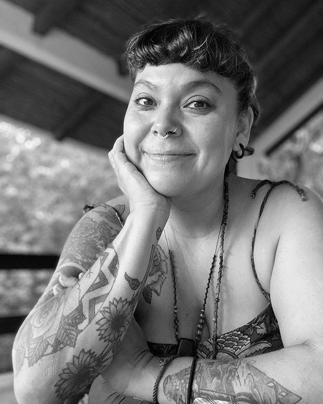 """<p>Madre Jaguar's work falls at the intersection of ceremony, ritual, and astrological arts. Their work centers on healing the body and reconnecting to Earth, offering rituals, guidance, and wisdom that are so needed for this time.</p><p><a href=""""https://www.instagram.com/p/CDK4IrHH-X8/?"""" rel=""""nofollow noopener"""" target=""""_blank"""" data-ylk=""""slk:See the original post on Instagram"""" class=""""link rapid-noclick-resp"""">See the original post on Instagram</a></p>"""