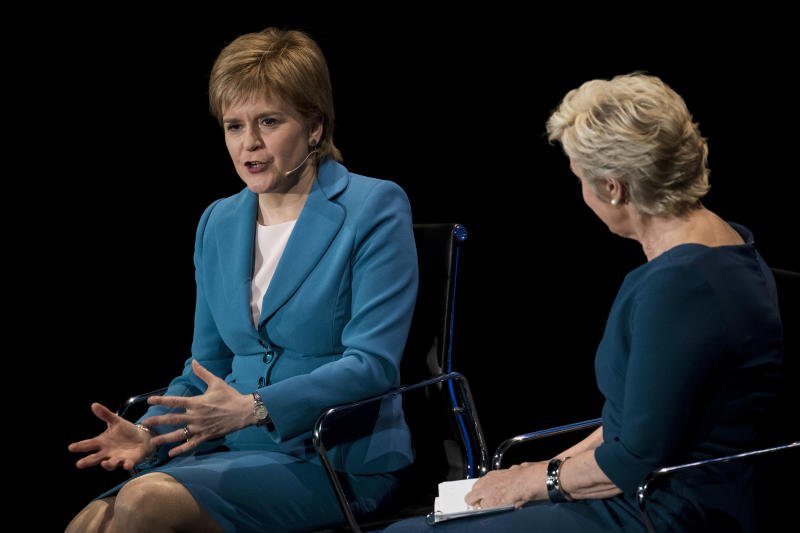 Nicola Sturgeon on 'Legs-it': Reducing Women to Body Parts Is Not Funny