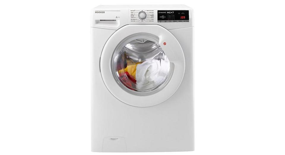 Hoover Dynamic Next 9kgLoad, 1600 Spin Washing Machine with One Touch