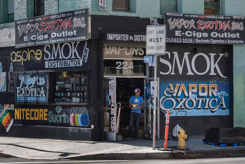 Health authorities across the country are investigating problems associated with vaping: Getty