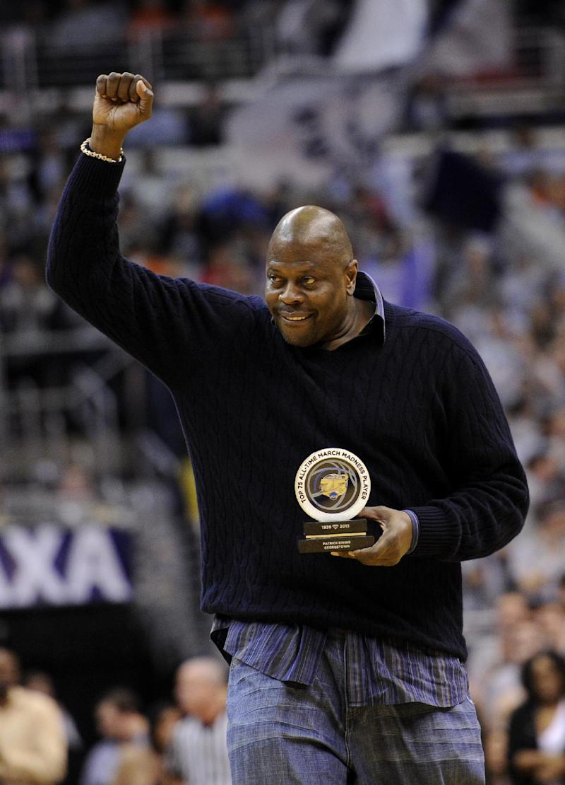 Ewing, Falk donate $3.3M to Georgetown center