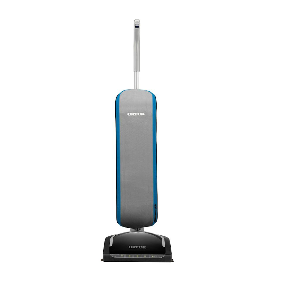 """<br><br><strong>Oreck</strong> Swivel Upright Bagged Vacuum Cleaner, $, available at <a href=""""https://amzn.to/3dmMRMQ"""" rel=""""nofollow noopener"""" target=""""_blank"""" data-ylk=""""slk:Amazon"""" class=""""link rapid-noclick-resp"""">Amazon</a>"""