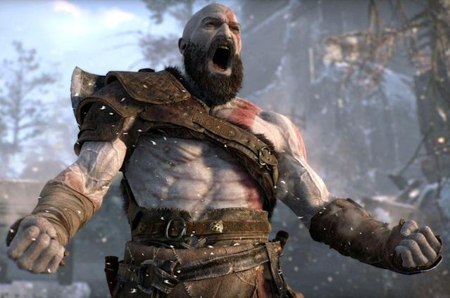 Kratos makes his triumphant return in 'God of War.'