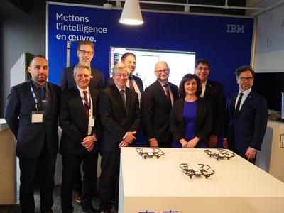 IBM expands Client Innovation Centre (CIC) mission with Artificial Intelligence and Salesforce, adding 100 jobs in Montreal, and announces partnership with Institute for Data Valorization to drive transformational innovation for IBM clients (CNW Group/IBM)