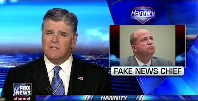 Sean Hannity on Fox News (Photo: Fox News)