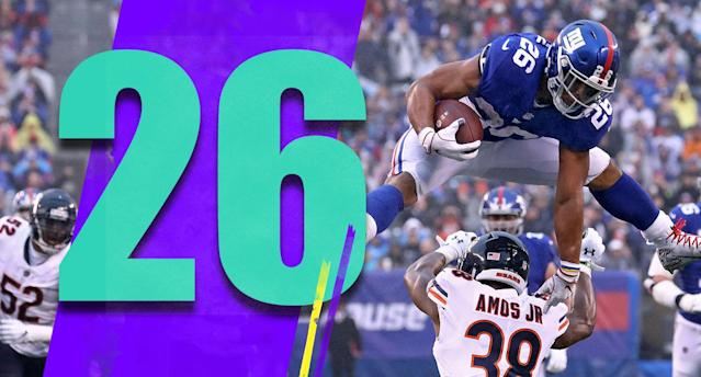<p>It was a good for the Giants to beat the Bears. If nothing else, it helps build more confidence in what Pat Shurmur is doing. (Saquon Barkley) </p>