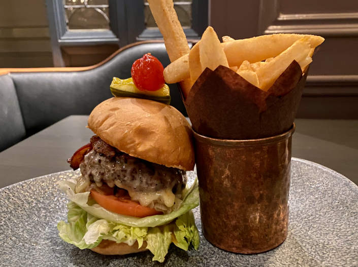 Available at two locations within Disney's Yacht Club, this burger is one of my favorites. (Terri Peters)
