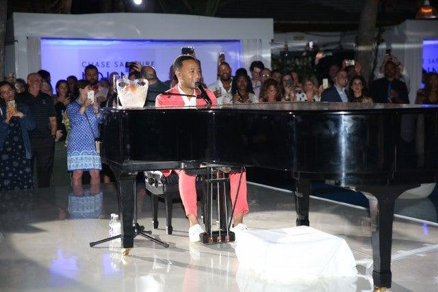 john legend in miami