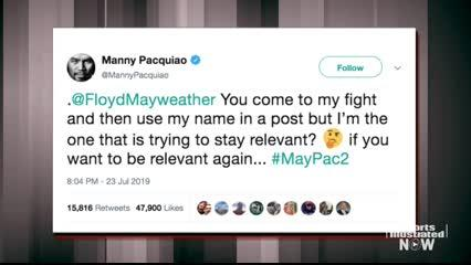 Is the Mayweather-Pacquiao Social Media Rumble Foreshadowing a Rematch?