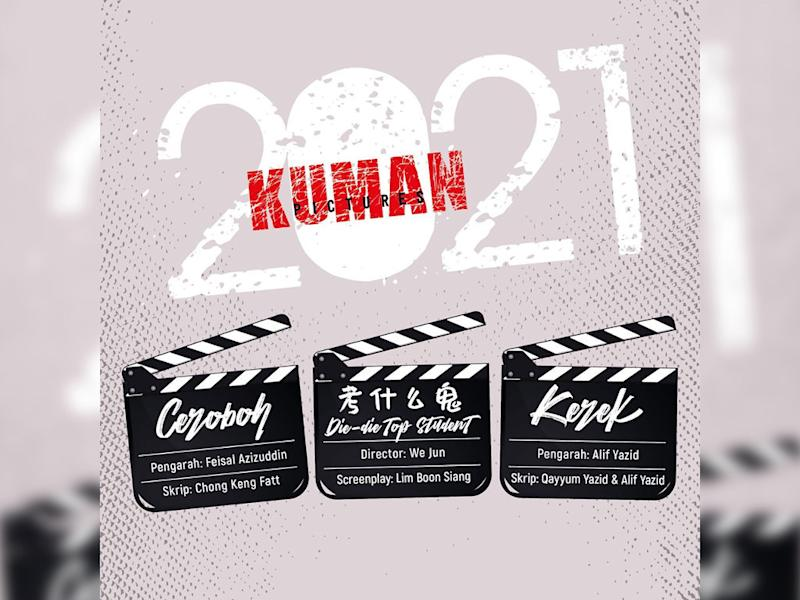 Kuman Pictures is busy making films again after productions are allowed to resume since 10 June.