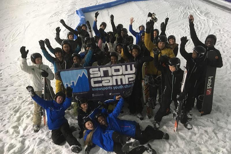The charity keeping children off the streets by teaching them to ski