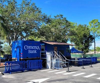 The gomerica Mobile Bank is set to make its debut in Naples, Florida, on Monday, September 27.