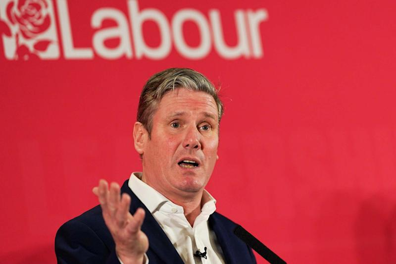 Divided we fall: Sir Keir Starmer: Getty Images