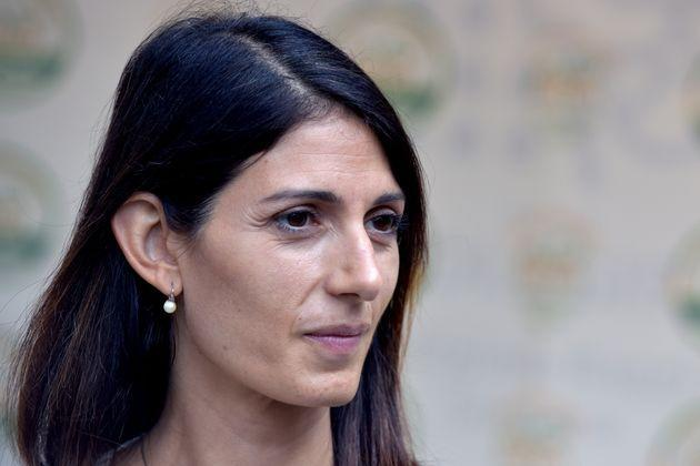 ROME, ITALY - SEPTEMBER 09:  Virginia Raggi attends the opening of the electoral campaign of the 'Roma ecologista' list, which supports Rome mayor Virginia Raggi's election campaign, on September 09, 2021 in Rome, Italy. The mayoral elections in Italy's major cities including Rome, Milan, Turin and Naples - previously due to be held between 15 April and 15 June - will be held 3 and 4 October, according to a decree approved by the cabinet due to the Coronavirus pandemic. (Photo by Simona Granati - Corbis/Corbis via Getty Images) (Photo: Simona Granati - Corbis via Getty Images)