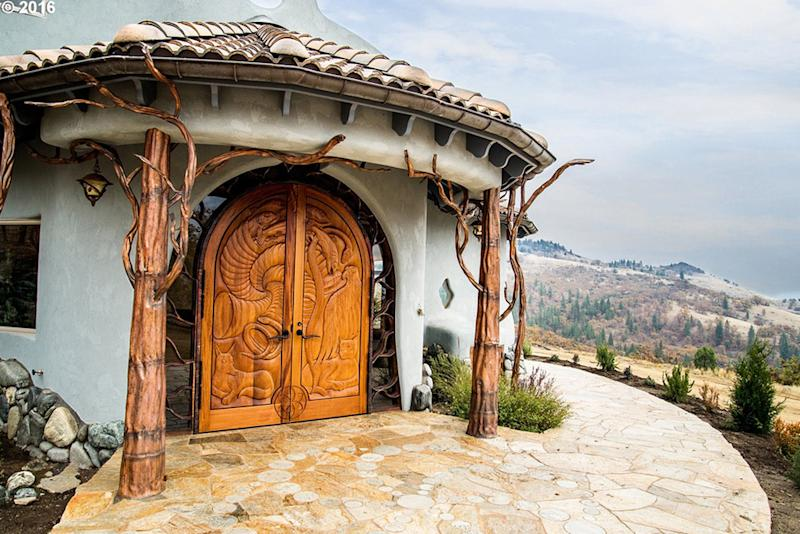 game of thrones house for sale in Ashland OR Front Door