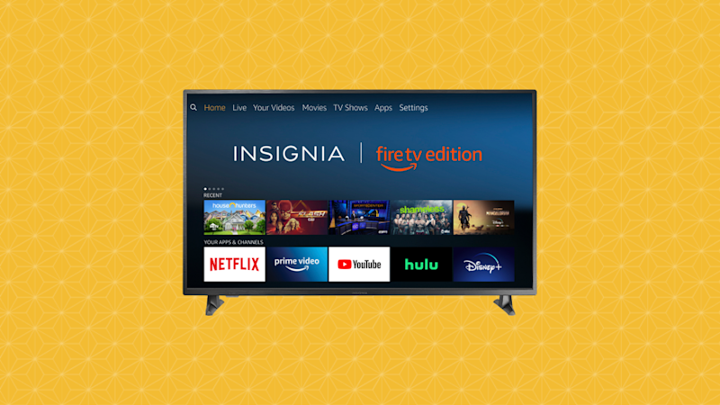 "Ahorra un 27 % en el televisor inteligente Insignia 24"" HD Fire TV Edition NS-24DF311SE21 (Foto: Amazon)."