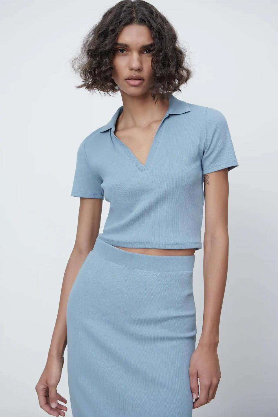 <p>This <span>Ribbed Polo</span> ($13) is the ultimate everyday stylish staple in your closet.</p>