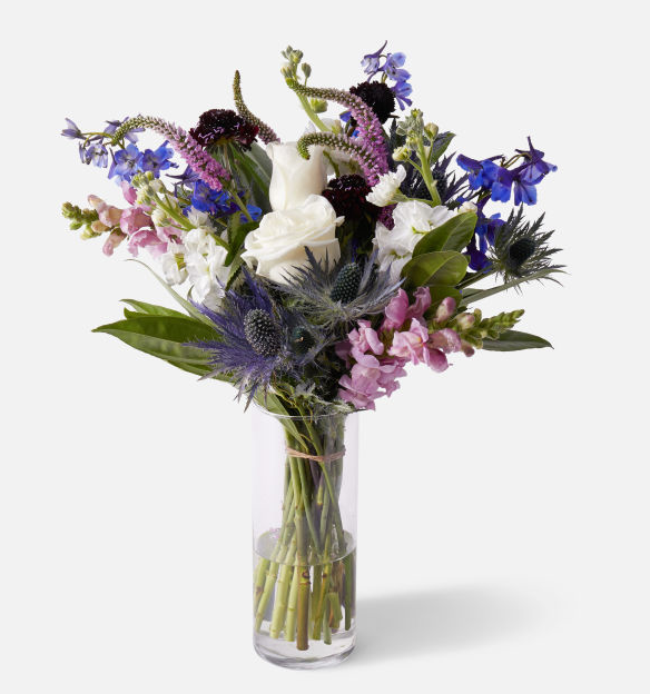 "You can't go wrong with a picture-perfect <a href=""https://www.glamour.com/gallery/best-flower-delivery-service?mbid=synd_yahoo_rss"" rel=""nofollow noopener"" target=""_blank"" data-ylk=""slk:flower arrangement"" class=""link rapid-noclick-resp"">flower arrangement</a> from UrbanStems. Known for its beautiful bouquets, the brand has a stunning selection of Mother's Day-themed offerings, including this offbeat option we love. $68, UrbanStems. <a href=""https://urbanstems.com/products/flowers/the-luna/FLRL-B-00108.html"" rel=""nofollow noopener"" target=""_blank"" data-ylk=""slk:Get it now!"" class=""link rapid-noclick-resp"">Get it now!</a>"