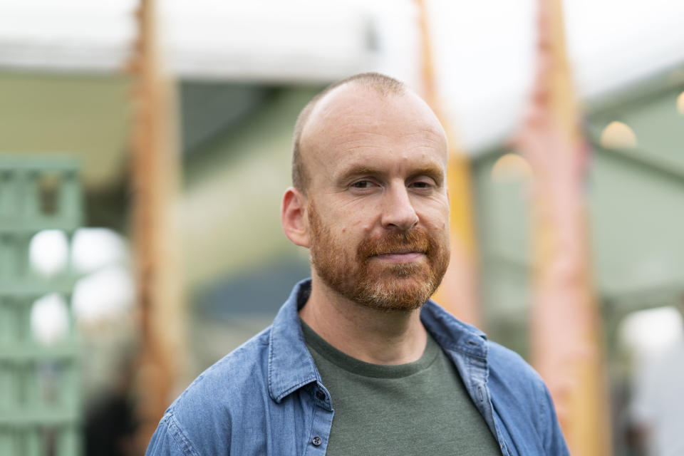 HAY-ON-WYE, WALES - JUNE 1: Matt Haig, British novelist, during the 2019 Hay Festival on June 1, 2019 in Hay-on-Wye, Wales. (Photo by David Levenson/Getty Images)