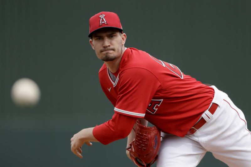 Angels Heaney Opening Day Baseball