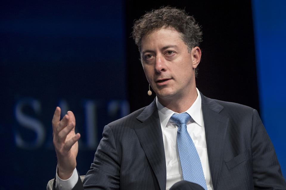 Jeff Smith, chief executive officer and chief investment officer at Starboard Value LP, speaks during the Skybridge Alternatives (SALT) conference in Las Vegas, Nevada, U.S., on Thursday, May 12, 2016. The SALT Conference facilitates balanced discussions and debates on macroeconomic trends, geopolitical events, and alternative investment opportunities within the context of a dynamic global economy. Photographer: David Paul Morris/Bloomberg via Getty Images