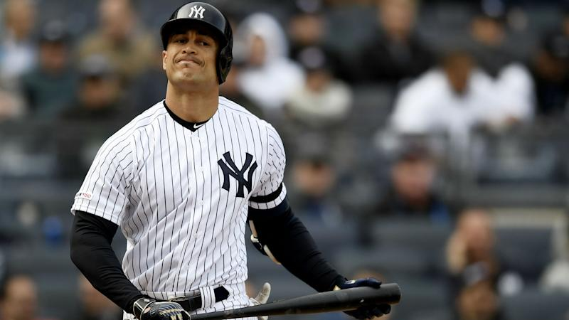 Yankees Slugger Giancarlo Stanton Out With Biceps Strain, Clint Frazier Called Up