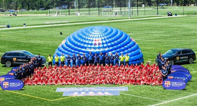 Barcelona has already started holding FCB Escola camps in the U.S. (FC Barcelona U.S.)