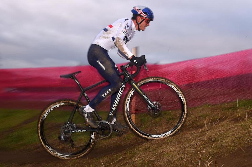 British cyclo-cross champion Tom Pidock (Trinity Racing) rode to 17th place at the opening round of the 2020/21 UCI Cycle-Cross World Cup in Tabor, in the Czech Republic