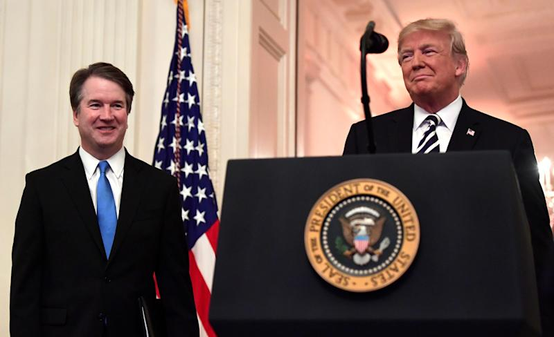 Even in his short tenure on the Supreme Court, Justice Brett Kavanaugh has been joining in court rulings that weaken voting rights or enable voter suppression. (Photo: ASSOCIATED PRESS)