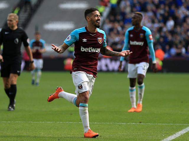 Manuel Lanzini superb as West Ham beat Everton with both David Moyes and Sam Allardyce poised to wave goodbye
