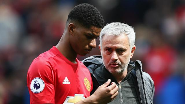 Marcus Rashford is delighted to have the backing of Jose Mourinho as he continues to make a name for himself at Manchester United.
