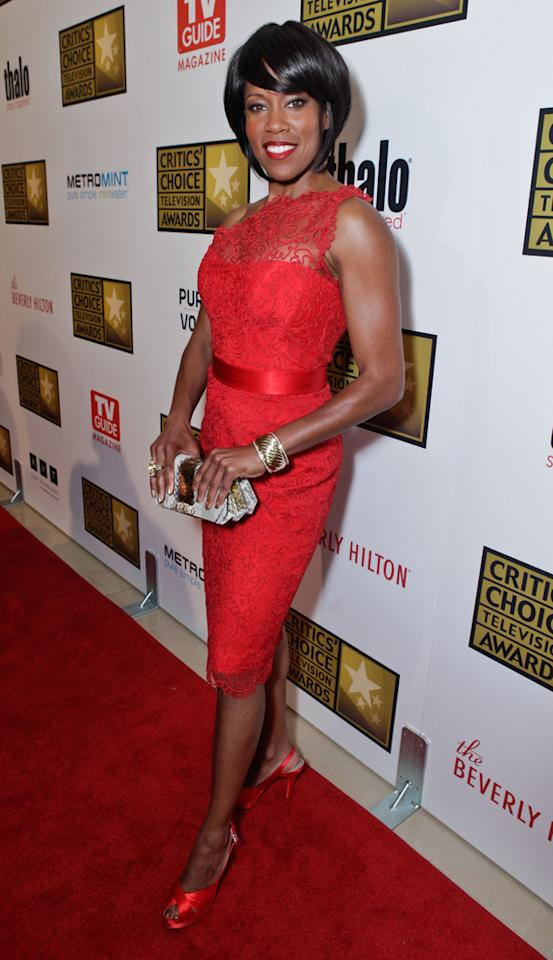 Regina King attends the 2012 Critics' Choice Television Awards at The Beverly Hilton Hotel on June 18, 2012 in Beverly Hills, California.