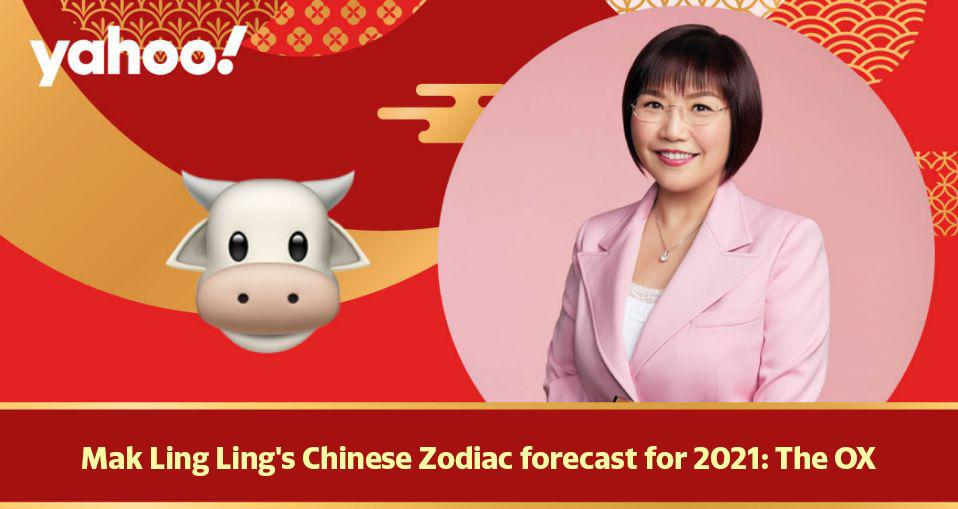 Mak Ling Ling's Chinese Zodiac forecast for 2021: The Ox