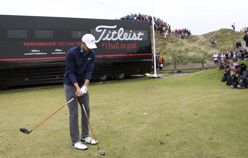 Tiger Woods hails 'special' Carnoustie ahead of The Open practice session