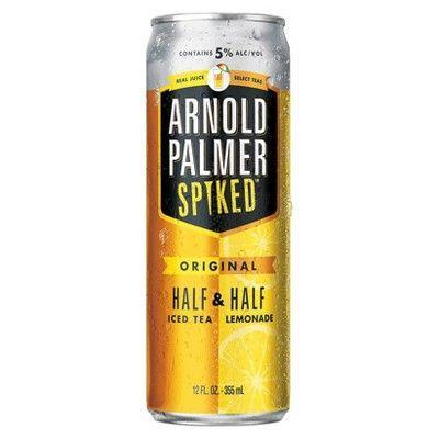 "<p><strong>Arnold Palmer</strong></p><p>target.com</p><p><strong>$8.99</strong></p><p><a href=""https://www.target.com/p/arnold-palmer-spiked-half-half-ice-tea-6pk-12-fl-oz-cans/-/A-53007605"" rel=""nofollow noopener"" target=""_blank"" data-ylk=""slk:BUY NOW"" class=""link rapid-noclick-resp"">BUY NOW</a></p><p>Your fav lemonade iced tea hybrid just got a whole lot boozier. It's got the same light, refreshing taste we all know and love, but packs a 5 percent ABV. </p>"