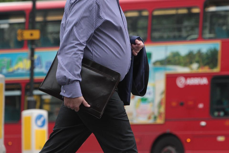 More body fat leads to increased risk of digestive system cancers, the study suggests (Andrew Gray/PA) (PA Archive)