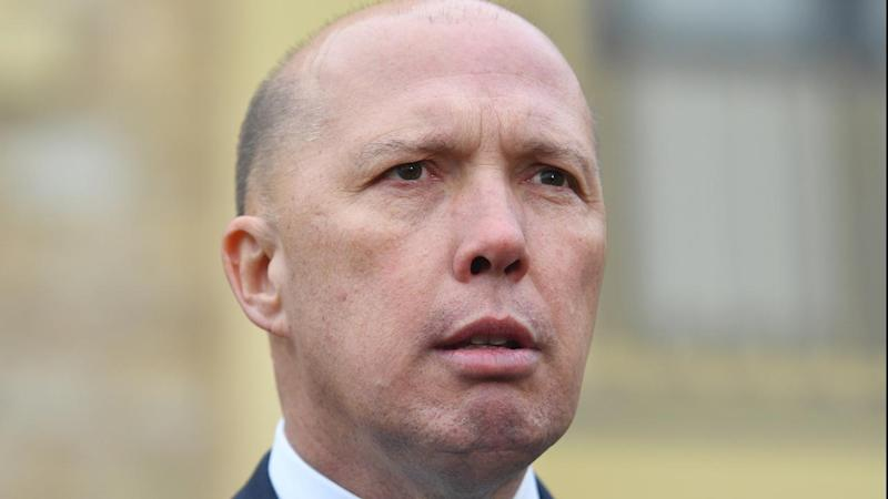 Australia's Home Affairs Minister Peter Dutton says he was