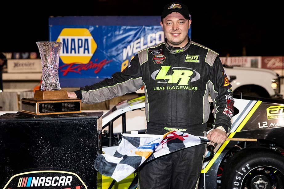 Emerling Sizzler Win For Pit Box