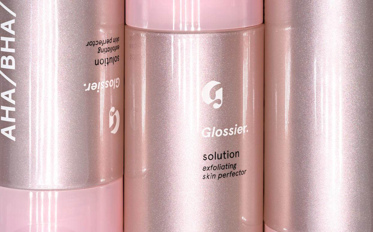 "<a href=""https://www.glossier.com/products/solution"" rel=""nofollow noopener"" target=""_blank"" data-ylk=""slk:Try Glossier's Solution"" class=""link rapid-noclick-resp"">Try Glossier's Solution</a> for only $24.&nbsp; (Photo: <a href=""https://www.glossier.com/products/solution"" rel=""nofollow noopener"" target=""_blank"" data-ylk=""slk:Glossier"" class=""link rapid-noclick-resp"">Glossier</a>)"