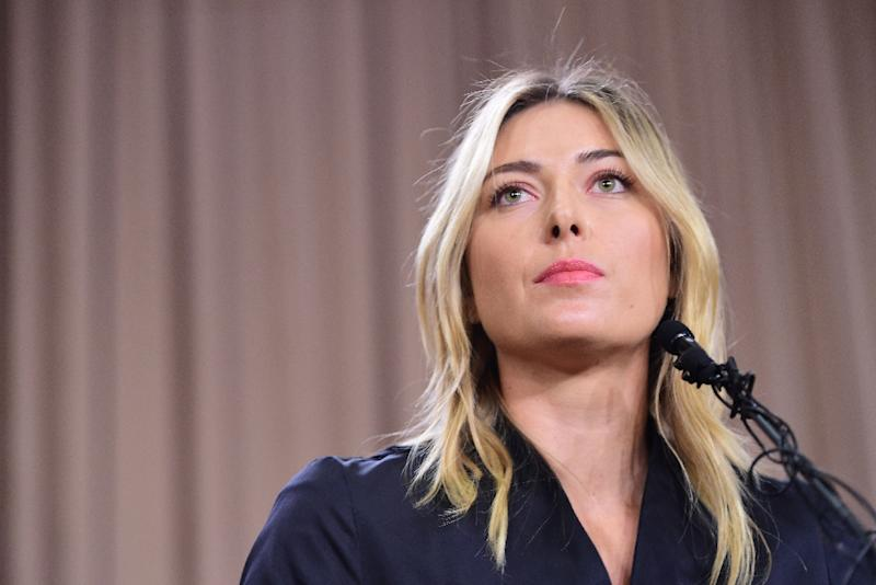 Russian tennis player Maria Sharapova had admitted using meldonium for 10 years to help treat illnesses, a heart issue and a magnesium deficiency (AFP Photo/Robyn Beck)