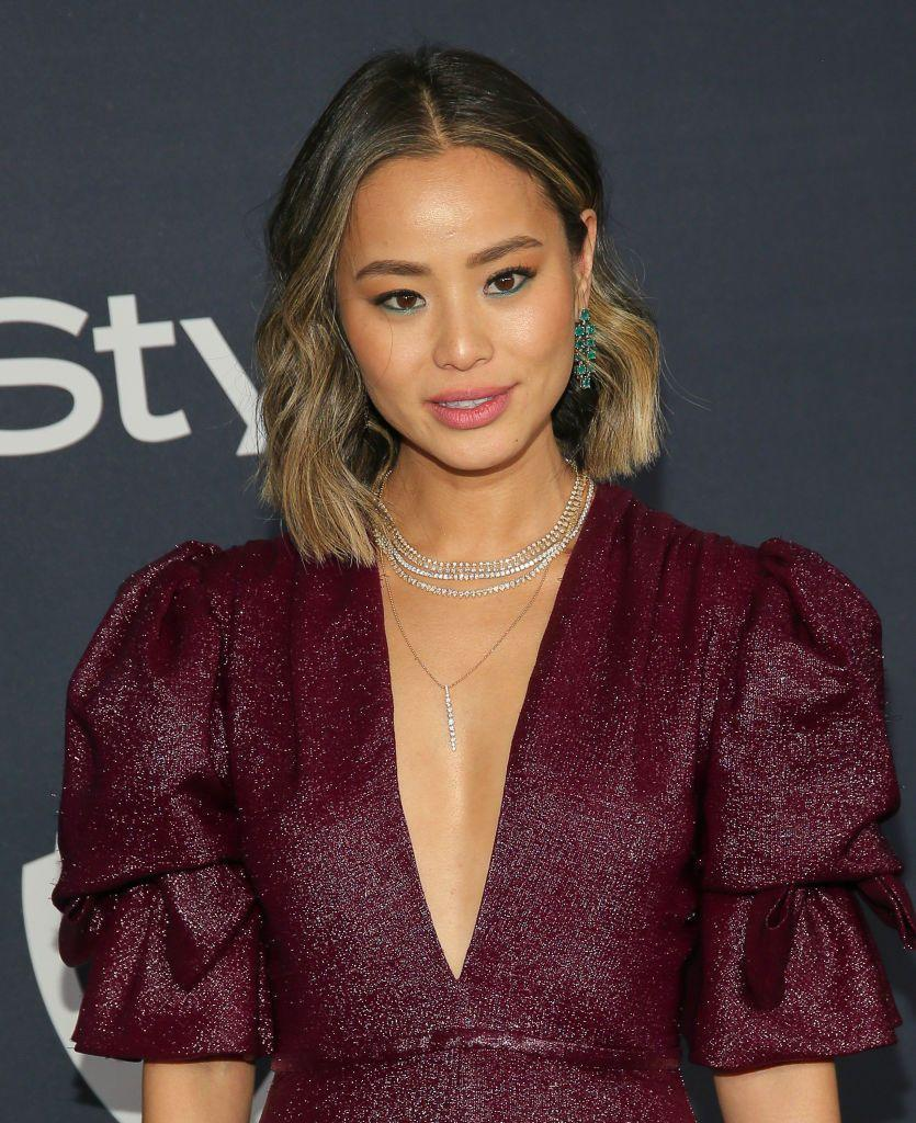 """<p>This two-toned hair, as seen on Jamie Chung, is popular, because it makes root growth between salon appointments look more intentional, says Jamie Mazzei, owner of <a href=""""https://nubestsalon.com/"""" rel=""""nofollow noopener"""" target=""""_blank"""" data-ylk=""""slk:NuBest Salon"""" class=""""link rapid-noclick-resp"""">NuBest Salon</a> in Manhasset, New York. </p>"""